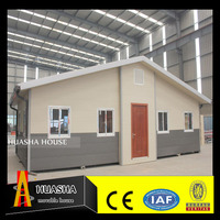 low cost prefabricated steel frame wood houses price