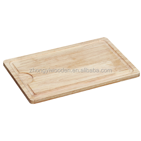 rubber wooden bread chopping cutting board for kitchenware
