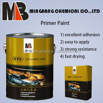 Anti rust 2k metallic epoxy primer paint