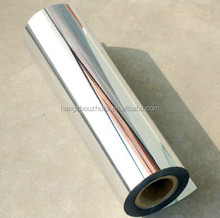 pet aluminum plating plastic stretch wrapping film roll