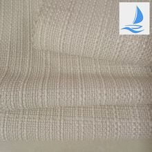 100% polyester woven white wholesale hemp fabric for sofa