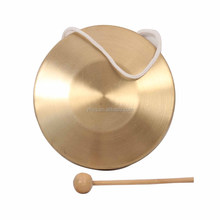 China Hotsale kids Percussion Instruments copper mini gong