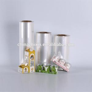Quality assurance polyolefin pof shrink film wrap with perforation