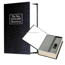 English Dictionary Safe Secret Money Cash Security Box with Combination Lock
