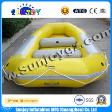 2015 new designed 3 person PVC inflatable drifting boat,river boat,raft boat