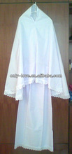 muslim women white prayer clothing,islamic abaya BF003