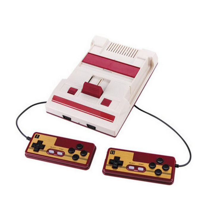 Nostalgic TV Game Player FC Classic Red White Video Game Consoles Video Game Console RS-35 Yellow Plug-in Cartridge Games