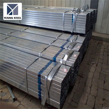 Zinc coated greenhouse fence galvanized rectangular steel pipe