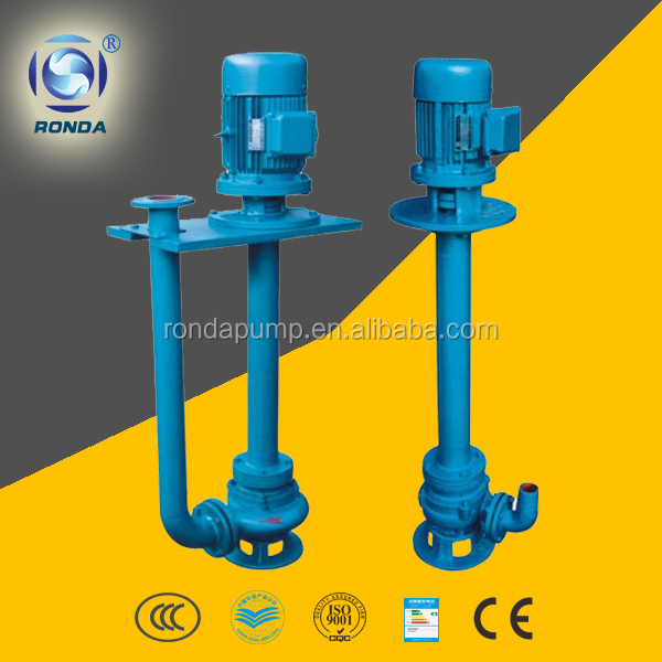 YW non-clogging vertical sewage pump dirty water submerged pump