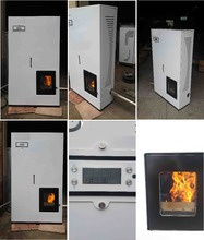 Biomass wood pellet cooking stove