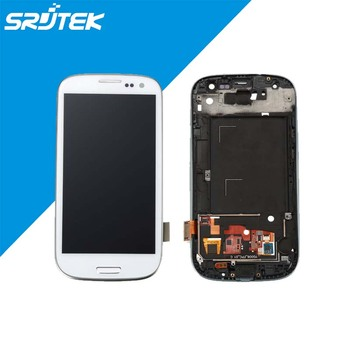 For Samsung Galaxy S3 i9300i i9301 i9301i LCD Display With Touch Screen Digitizer Glass Assembly With Frame New 2016