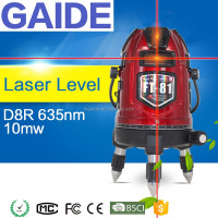 D8R 635nm 10mw best laser level for construction