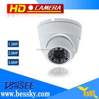 Bessky Factory directly 3MP AHD camera for bus/taxi/home/hotel night vision long ir range 960p cctv camera