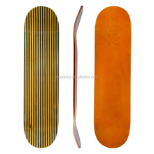 Color and size customized Good quality skateboard decks with epoxy glue fiber glass+ carbon+ canadian maple skateboard decks