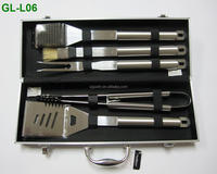 BBQ Grilling Tool Set - Barbecue Kit/metal case