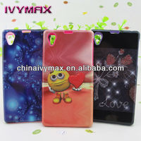 for Sony Xperia Z1 colorful bumper plastic phone cases