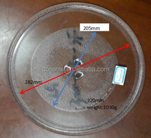 32cm 3flowers microwave oven parts, glass plate, microwave oven glass tray