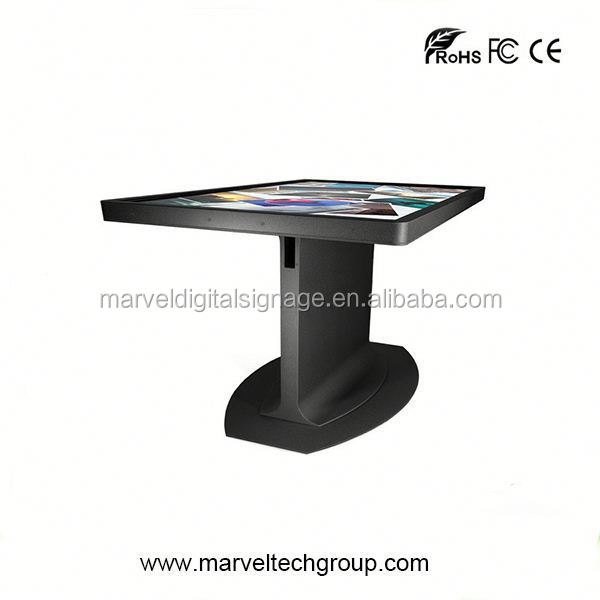 Interactive mutil touch screen two colors earth globe touch table lamp