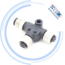 NMEA 2000 Micro M12 T Adapter , 5pin waterproof Splitter Tee Connector