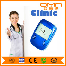 No Voice Blood Glucose Meter Cheap Cholesterol Meter Prices with Test Strips and Lancet Kit for Quick Checking Blood Sugar