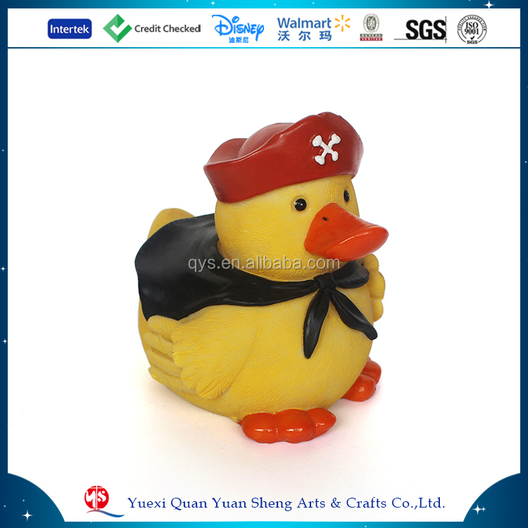 Resin Little Yellow Duck Toy Gift Decoration Figurine