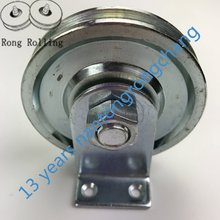steel Wire rope bearing pulley