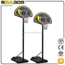 adult training recreational basketball stand