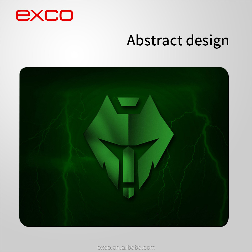EXCO wholesale cheap rubber adult custom gaming mouse pad factory for mouse