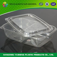 Plastic packaging for baked goods