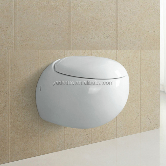 WC ceramic wall hung white toilet porcelain portable hanging toilet bowl small water closet
