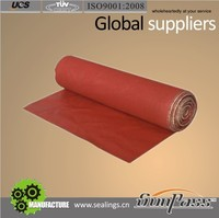 Building Construction Protection Silicone Rubber Coated Fiber Glass Fabric