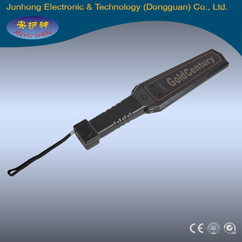 Factory direct selling hand held metal detector price, hand held gold metal detector