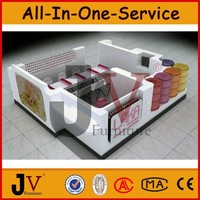 New professional design for shopping mall nail bar kiosk for manicure