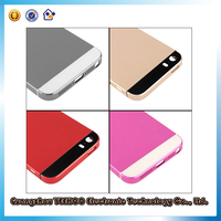 Cell phone back case for iphone 5s back cover housing in A quality