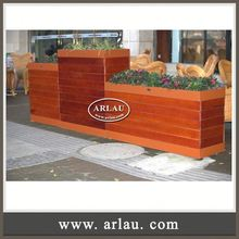 Arlau Stackable Planters,Colorful High Quality Flower Planter,Iron Flower Pot Liners