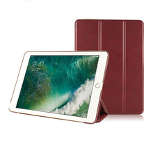 Custom Slim Folio Flip Cover Stand Tablet Case Pu Leather Case for Ipad 9.7