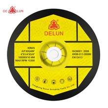 "High quality wholesale abrasive 4"" grinding disc"