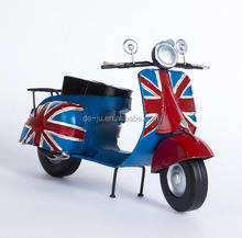 Fashion Wrought Mini Tinplate Model Motorcycle