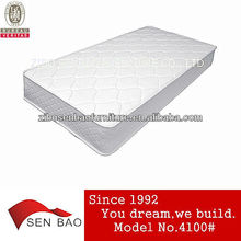 Professional felt mattress cot size mattress with bonnell spring 4100#