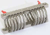 stainless steel wire rope shock absorber GS 0-4 Series
