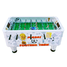 Indoor game machine coin operated mini soccer table hand football game machine