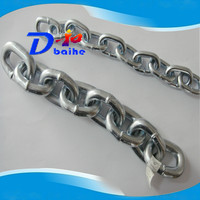 welded short link chain