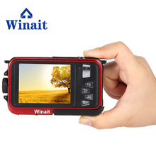 WINAIT 24 Mega pixels Digital camera with dual display and 16x digital zoom waterproof camera