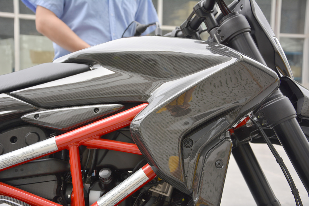 Carbon fiber parts for Ducati Hypermotard 2013
