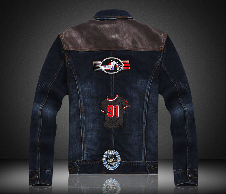 2014 new style skinny denim jacket manufacturers of high-quality retail03