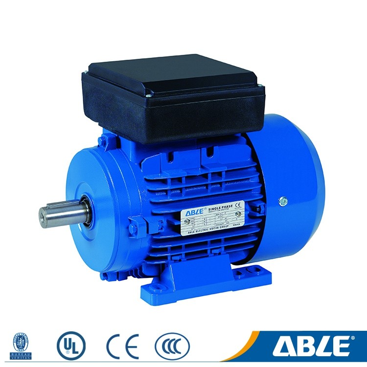 4 pole 1.5hp 50hz ac single phase tidar axial fan motor