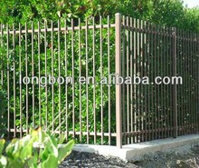 2015 Top-selling decorative farm iron gate fence