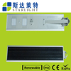 architectural design die cast aluminium housing 100 LM/W solar led street light