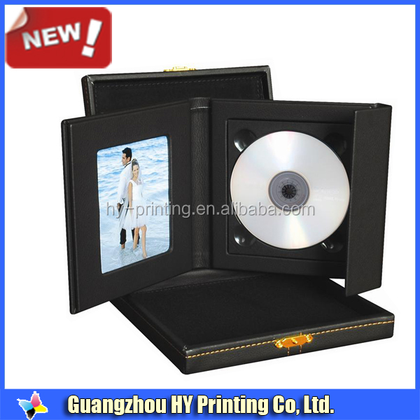 Black CD/DVD Folios