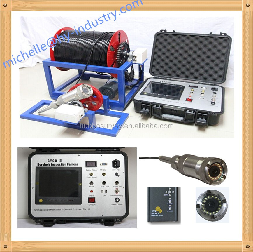 2016 Hot Selling Borehole Camera GYGD-III Borehole Inspection Camera